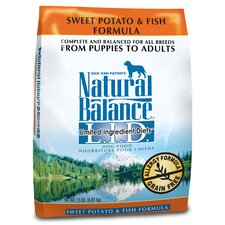 <strong>Natural Balance</strong> Limited Ingredient Diets Sweet Potato and Fish Formula Dry Dog Food