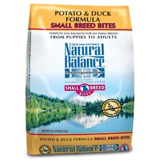 <strong>Natural Balance</strong> Limited Ingredient Diets Potato and Duck Formula Small Breed Bites Dry Dog Food