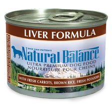 Liver Formula Wet Dog Food