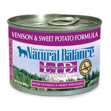 Limited Ingredient Diets Venison and Sweet Potato Formula Wet Dog Food (Set of 12)