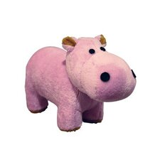 <strong>Tuffy's Pet Foods</strong> VIP Mighty Junior Safari Hippo Dog Toy