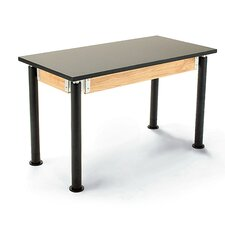 Plain Front Science Table with Casters