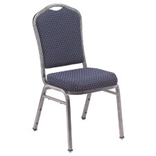 <strong>National Public Seating</strong> Series 9300 Fabric Silhouette Banquet Stacker with Box Designer Back