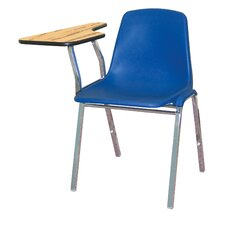 <strong>National Public Seating</strong> Poly Shell Chair with Optional Tablet Arm