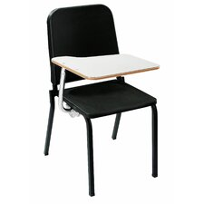 <strong>National Public Seating</strong> Melody Stack Chair with Tablet Arm