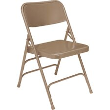 <strong>National Public Seating</strong> 300 Series Triple Brace Steel Folding Chair