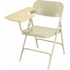 5200 Series Steel Folding Chair with Tablet Arm