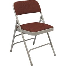 2300 Series Triple Strength Upholstered Folding Chair (Set of 4)
