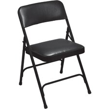 1200 Series Vinyl Upholstered Folding Chair