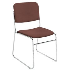 <strong>National Public Seating</strong> Signature Lightweight Fabric Padded Stack Chair