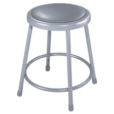 <strong>National Public Seating</strong> Height Adjustable Stool with Footring