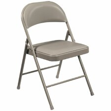 Commercialine Vinyl Padded Folding Chair (Set of 4)