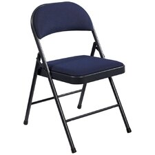 Commercialine Fabric Padded Folding Chair