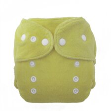 <strong>Thirsties,INC</strong> Duo Fab Fitted Diaper Snap in Honeydew