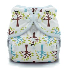 Duo Wrap Snap Diaper in Blackbird