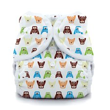Duo Wrap Snap Diaper in Hoot