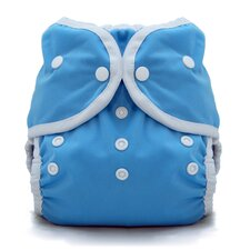 Duo Wrap Snap Diaper in Ocean Blue