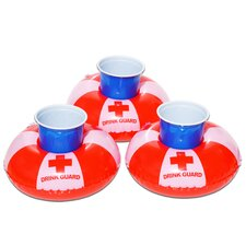 Floating Guard Drink Holders (Set of 3)