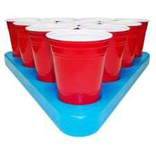 Freezable Beer Pong Rack Set