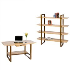 Breeze Standard Desk Office Suite