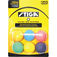 <strong>Stiga</strong> One-Star Table Tennis Ball