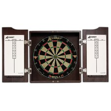 Bull Dartboard Cabinet and Set