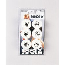 Rossi Champ Ball - 6 Count in White