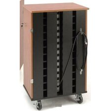 24-Compartment Laptop Charging Storage Cart