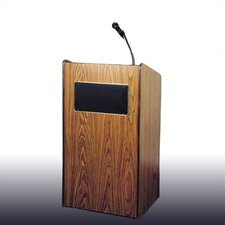 <strong>Oklahoma Sound Corporation</strong> iscratAristocrat Floor Sound Lectern #6010