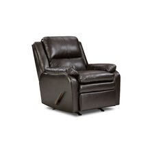 Soho Bonded Leather Rocker Recliner