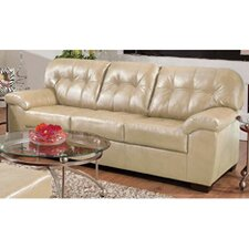 <strong>Simmons Upholstery</strong> Soho Bonded Leather Sofa