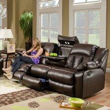Sebring Leather Double Motion Sofa