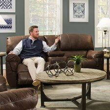 Renegade Beautyrest Motion Console Loveseat
