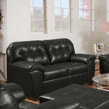 Soho Bonded Leather Loveseat