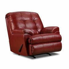 <strong>Simmons Upholstery</strong> Soho Bonded Leather Recliner