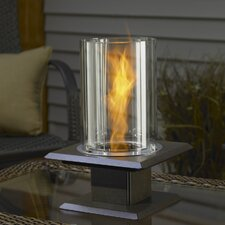 Allure Sedona Glass Gel Table Top Fireplace