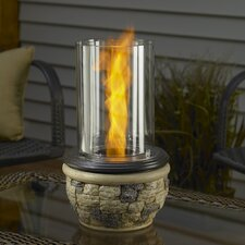 <strong>The Outdoor GreatRoom Company</strong> Ledgestone Tabletop Gel Fuel Fireplace