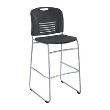 <strong>Safco Products Company</strong> Bistro Sled Chair