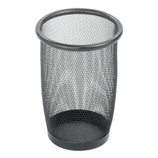 Onyx 6.88-Gal. Round Mesh Wastebasket (Set of 3)