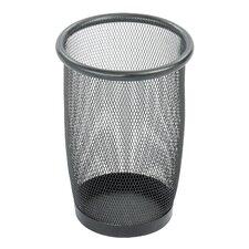Onyx 6.88-Gal. Round Mesh Wastebasket