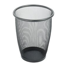 Onyx 5-Gal. Round Mesh Wastebasket (Set of 3)