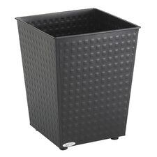 6-Gal. Checks Wastebasket (Set of 3)