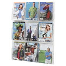 9 Pocket Magazine Rack