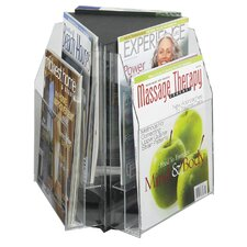 6 Pocket Magazine Table Display