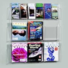 9 Pocket Magazine Rack Stand and Holder