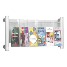 Luxe 3 Pocket Magazine Rack