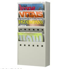 5 Pocket Magazine Rack