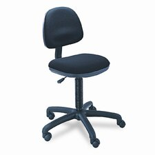 <strong>Safco Products Company</strong> Precision Desk-Height Swivel Chair