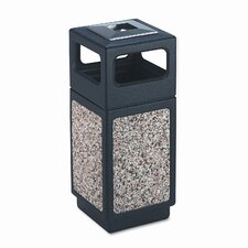 <strong>Safco Products Company</strong> Canmeleon Ash/Trash Square Receptacle, 15 Gal