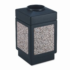 <strong>Safco Products Company</strong> Canmeleon Series Outdoor Aggregate Panel Open Top Receptacle